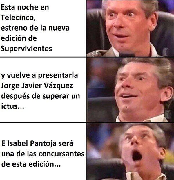 Meme_otros - Las marujas y media España no se perderán el estreno de la nueva edición de Supervivientes