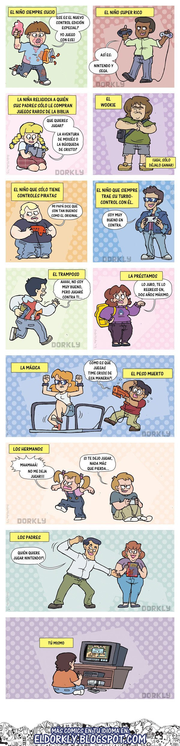 Otros - Diferentes tipos de gamers