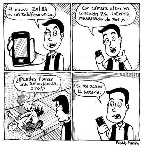 Otros - El gran problema de los teléfonos modernos