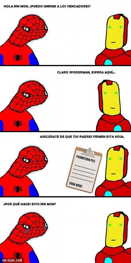 Spiderman_yisus - Pobre Spoderman