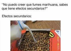 Enlace a La marihuana y sus efectos secundarios
