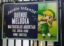 Enlace a Ni Zelda, ni Link. DUENDE MELODÍA