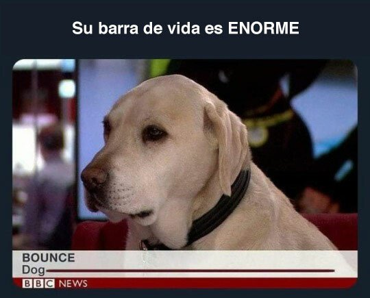 Meme_otros - Barra de vida