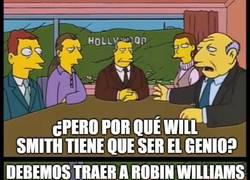 Enlace a La elección de Will Smith como el genio