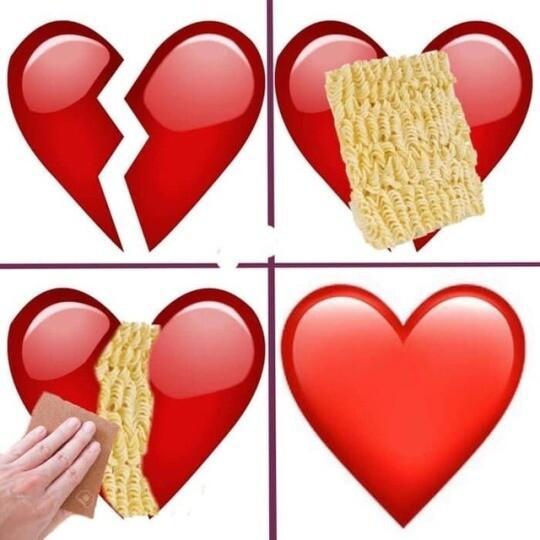 Meme_otros - Unos noodles lo arreglan todo