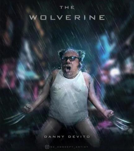 Otros - Danny Devito x Lobezno