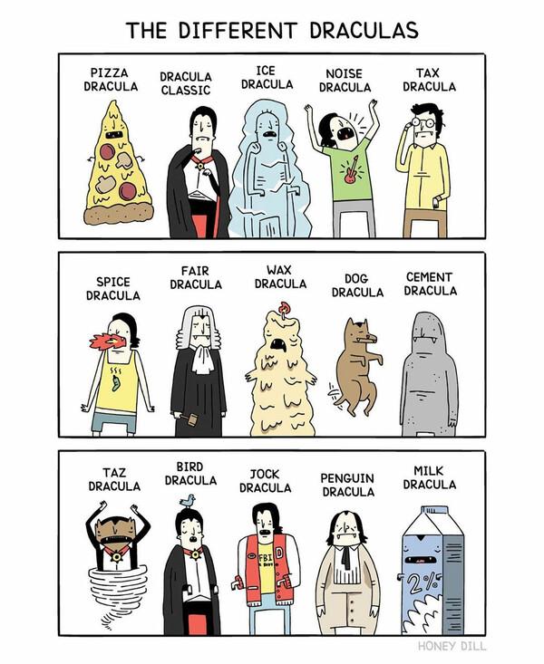 Otros - Tipos de Drácula
