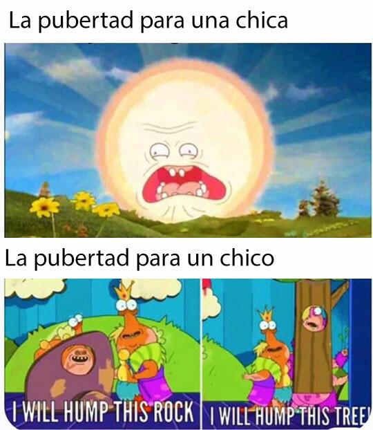 Meme_otros - La pubertad