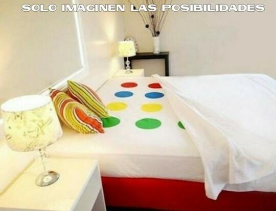 Otros - Yo lo usaría para marcar MI parte de la cama