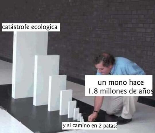 Meme_otros - El efecto Homo Erectus