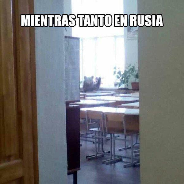 Meme_otros - Mientras atnto en rusia