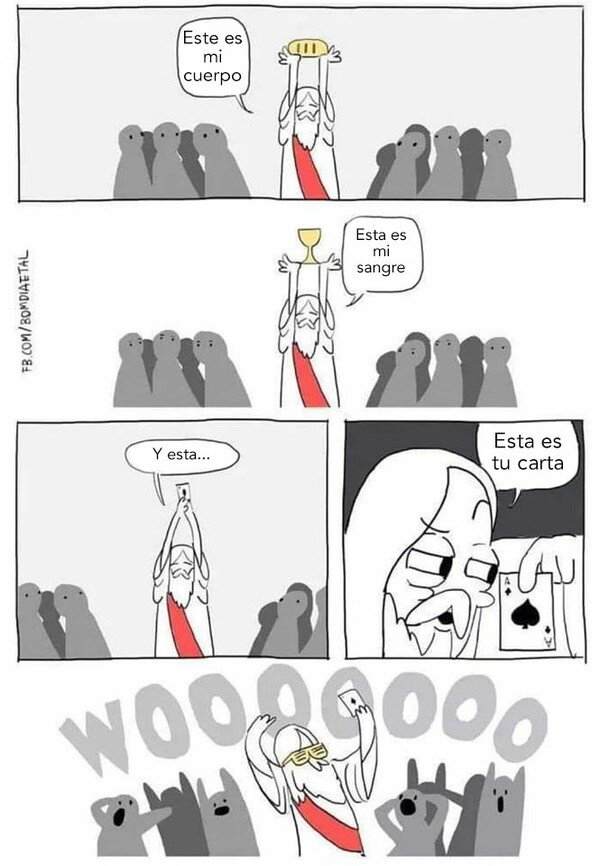 Otros - Jesucristo el de los trucos de magia