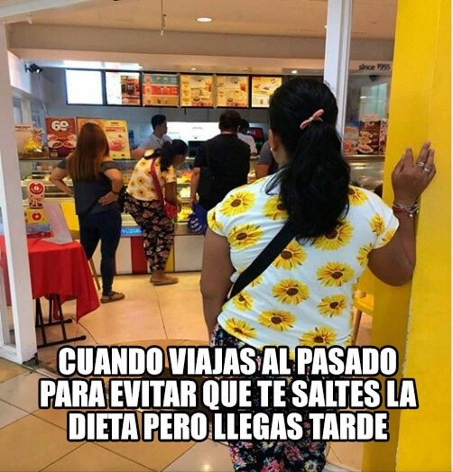 Meme_otros - Regreso al McDonalds