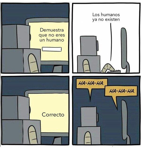 Otros - Demuestra que no eres humano