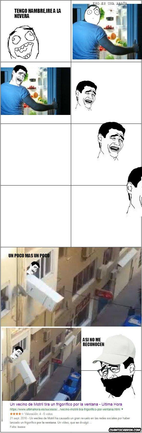 Yao - Cuando ves una araña en la nevera y acabas tirandola por la ventana