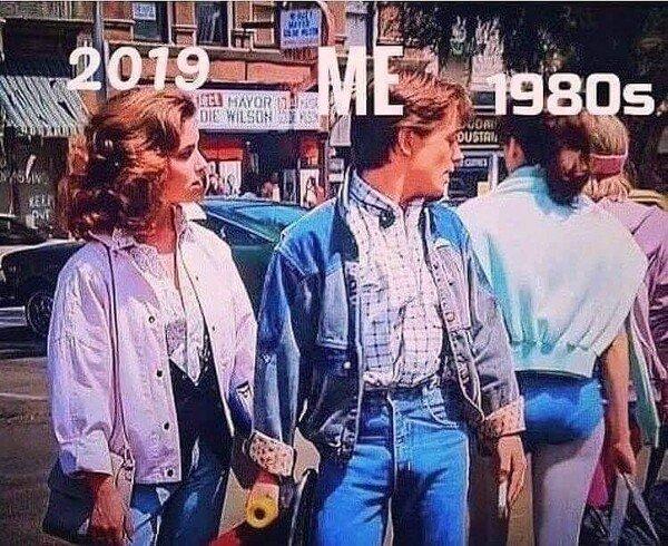 Meme_otros - No habia ni nacido, pero ¡ay los 80!