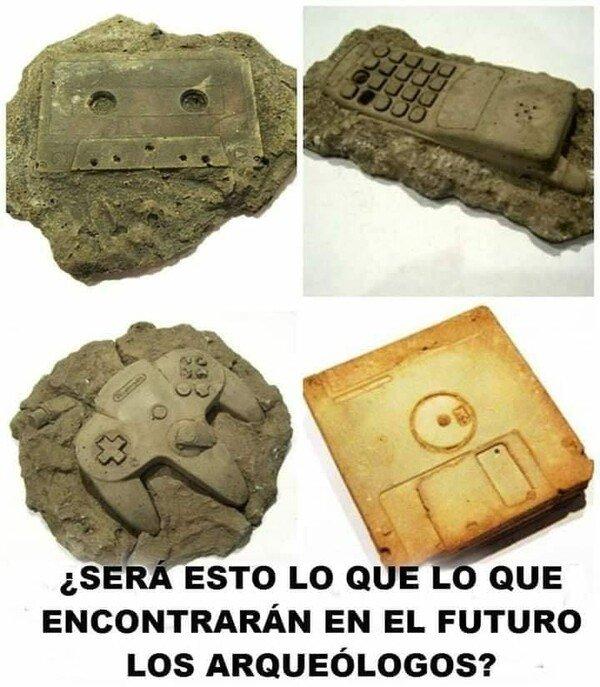 Meme_otros - Los restos arqueológicos de finales del S.XX