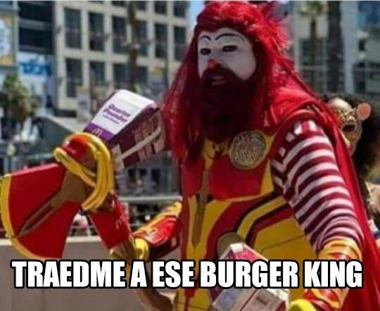 Meme_otros - Soy Ronald McThunder, hijo del Dios del bacon