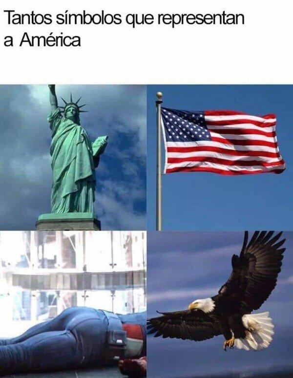 Meme_otros - El culo del Capitán América debería ser tesoro nacional