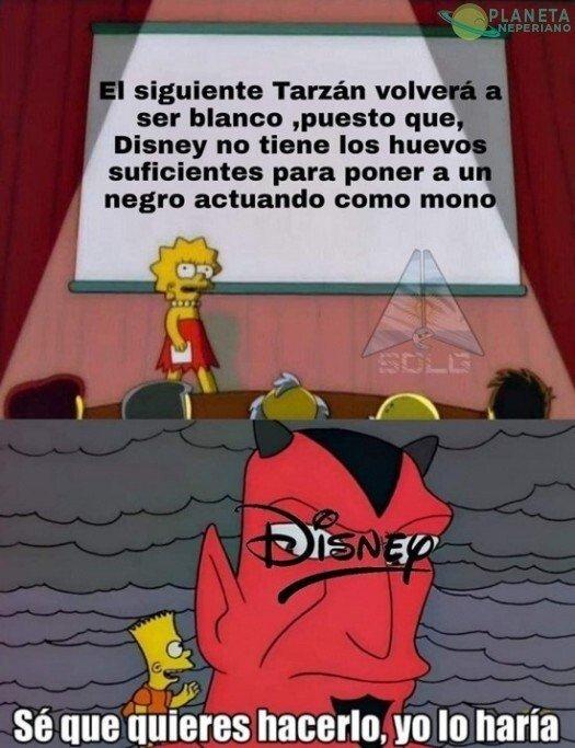 Meme_otros - Vamos Disney, tú puedes...