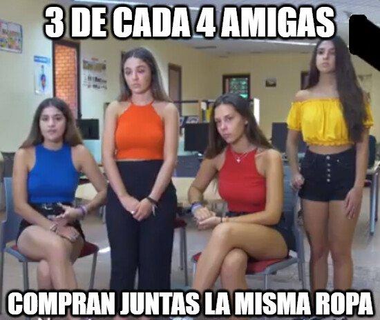 Meme_otros - 3 de cada 4 amigas...