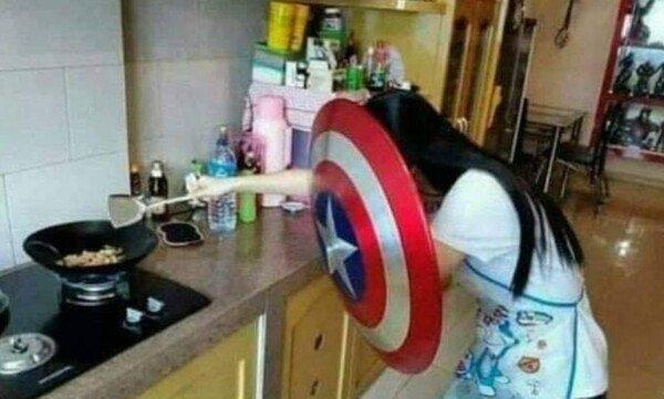 Meme_otros - ¿Sabes cocinar? Yo: