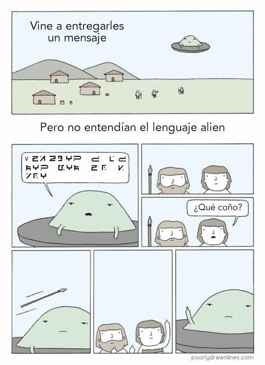 Otros - Lenguaje alien