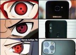 Enlace a Naruto ya predijo el futuro de las cámaras de los móviles