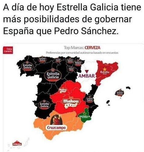 Meme_otros - Estrella galicia 4 president