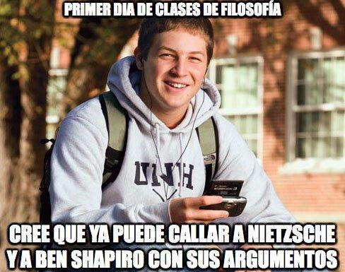 Universitario_primer_curso - Típico de los estudiantes de Filosofía