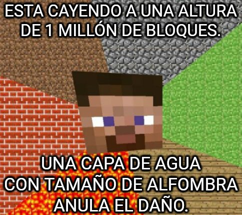Minecraft - Me sorprende esa lógica