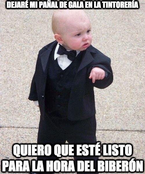 Bebe_mafioso - Un bebé exigente pero elegante