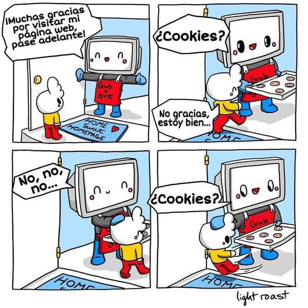 Otros - ¡Qué no quiero tus p**** cookies!