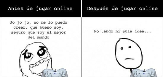 Pokerface - Realidad del Online
