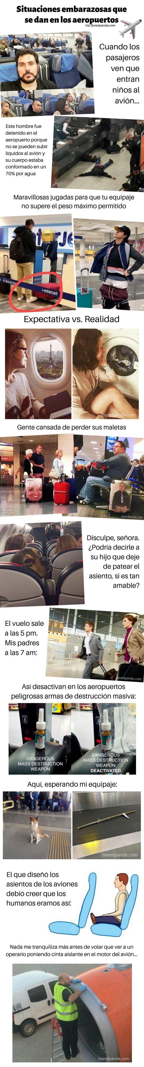 Meme_otros - Situaciones embarazosas que suceden en los aeropuertos