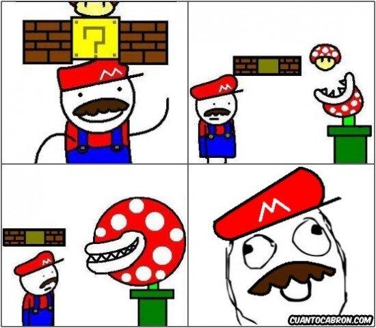 Meme_otros - Mario está en serios problemas