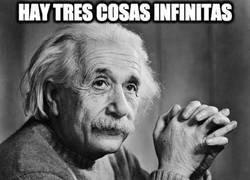 Enlace a Hay tres cosas infinitas