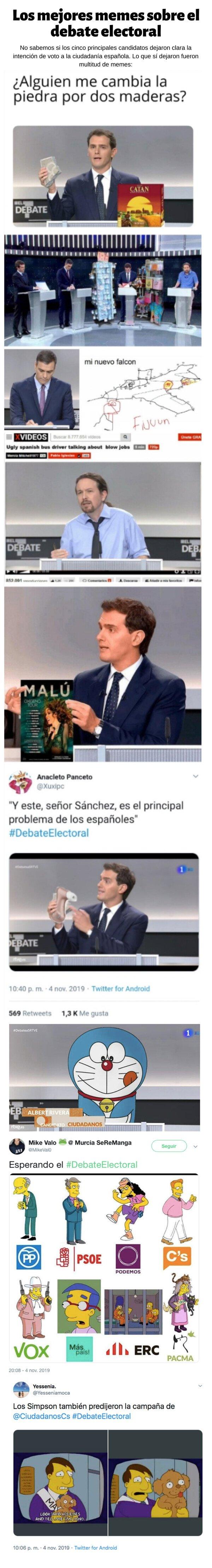 Meme_otros - Los mejores memes sobre el debate electoral
