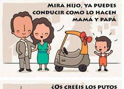 Enlace a Conduciendo como papá y mamá