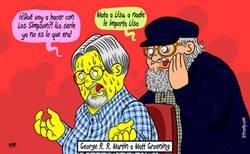 Enlace a Si George R. R. Martin aconsejara a Matt Groening