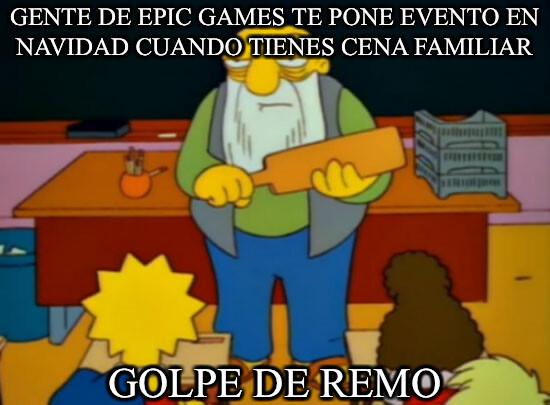 Golpe_de_remo - Ponen los eventos cuando peor lo tenemos para jugar