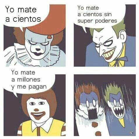 Meme_otros - El payaso más malvado de todos