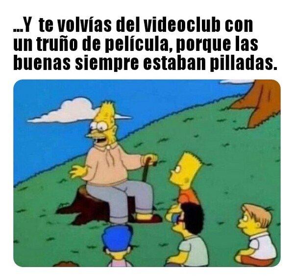 Meme_otros - La fiebre del VHS noche...