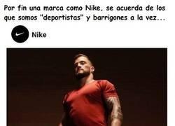 Enlace a Gracias Nike, por tenernos en cuenta también...