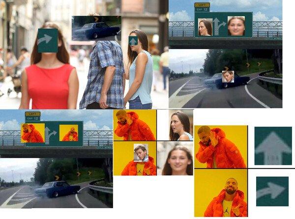 Meme_otros - Tres memes mezclados entre sí
