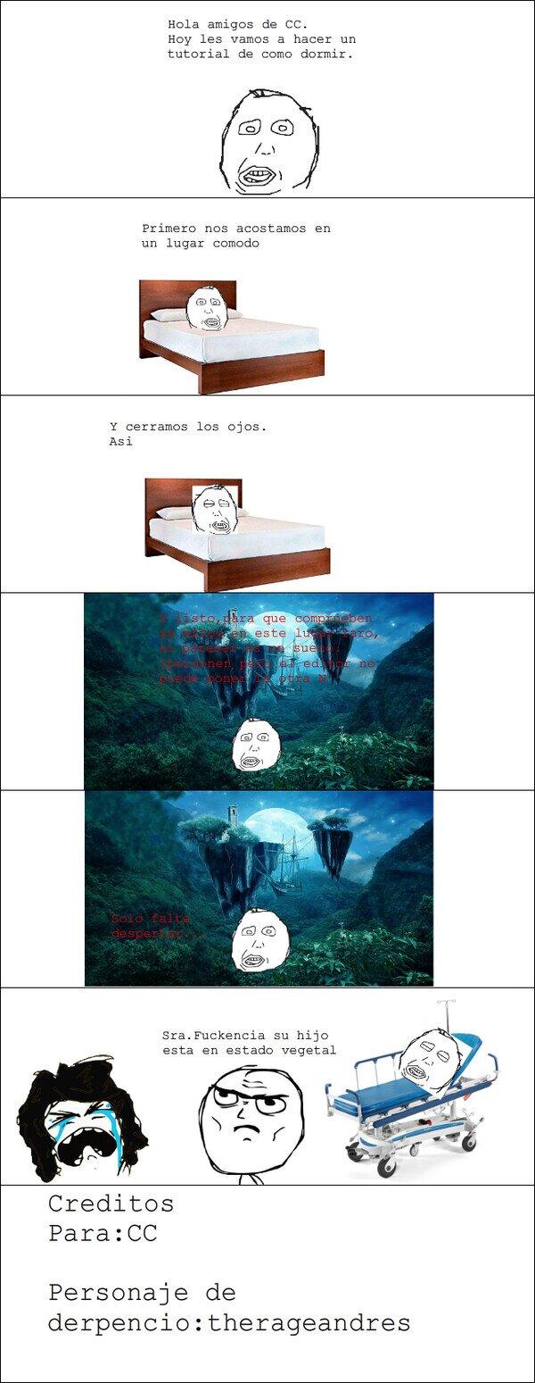 Retarded - Como aprender a dormir