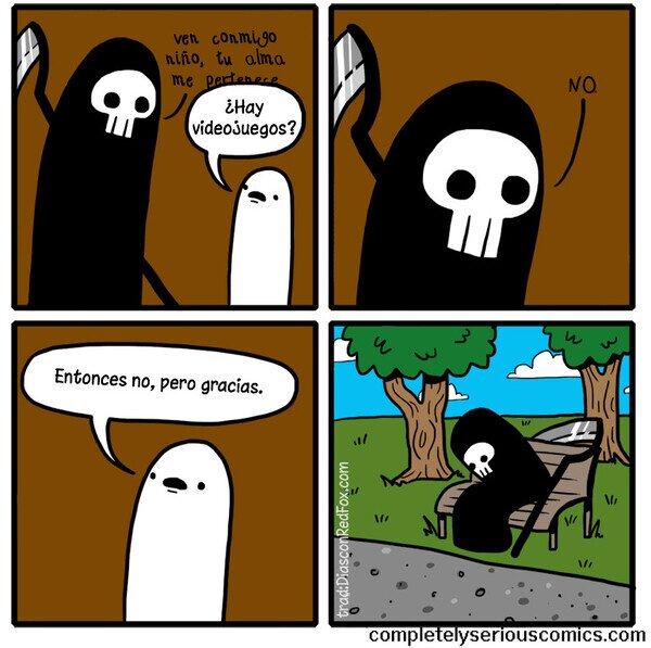 Otros - La muerte hoy en día ya no es lo que era