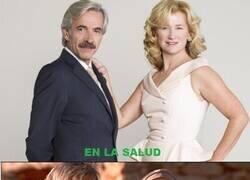 Enlace a Ana Duato e Imanol Arias juntos en la serie y fuera hasta compartiendo delito fiscal...