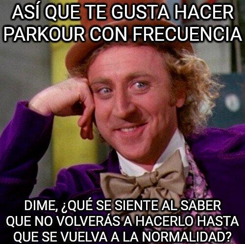 Wonka - Los fans del parkour tendrán que esperar...