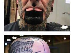 Enlace a Personas a las que se les fue la mano con los tatuajes